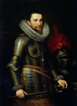 Portret van Ambrogio Spinola (1569-1630), Michiel Jansz. van Mierevelt