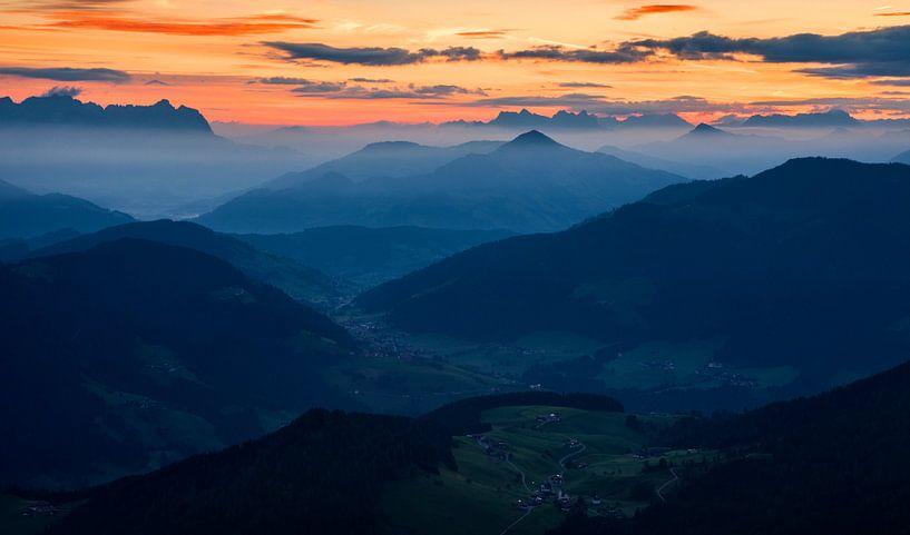 Alpes Autriche sur Frank Peters