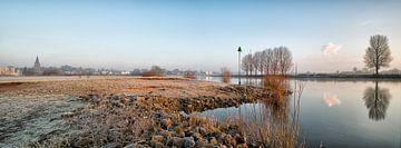 Vroege ochtend Dieren IJssel Gelderland van Mart Stevens