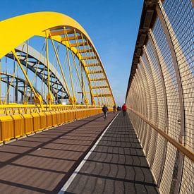 Hogeweidebrug en Spoorbruggen van Eugene Winthagen