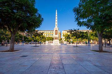 Plaza de la Merced Malaga, Spanien