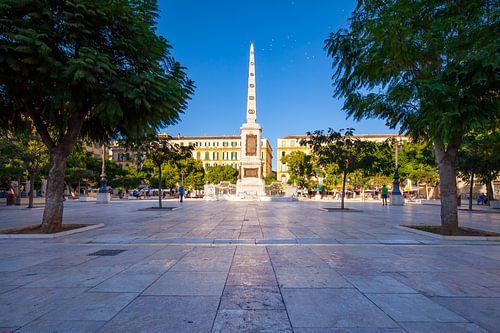 Plaza de la Merced Malaga, Spanje