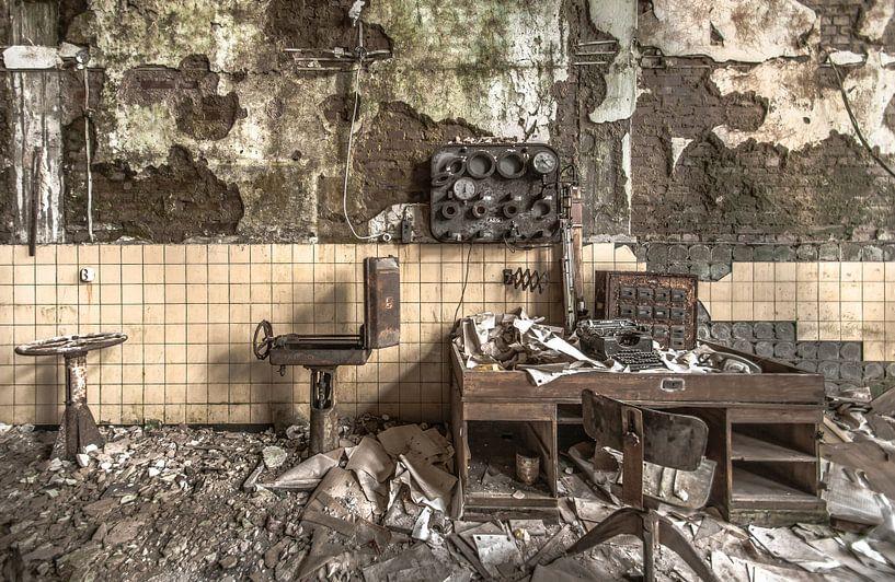 Die fabrik van Olivier Van Cauwelaert