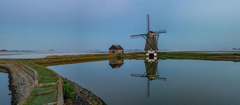 Mirror mirror - Molen het Noorden - Texel von Texel360Fotografie Richard Heerschap