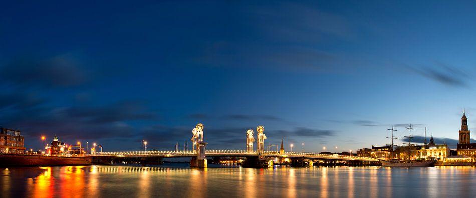 Kampen stadsbrug van Sjoerd van der Wal