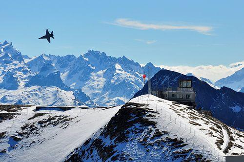 Axalp, Zwitserland van Rogier Vermeulen