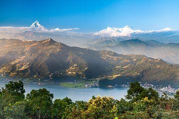 Phewa-meer in Pokhara, Nepal