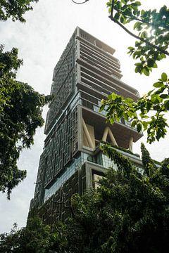 Gigantische Residenz von Ambani in Bombay von Camille Van den Heuvel