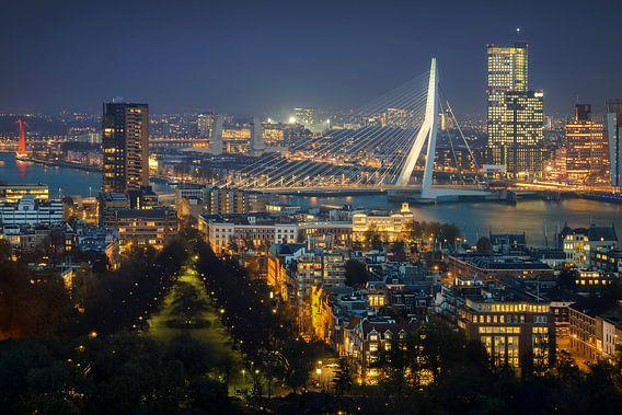 Rotterdam vanaf de Euromast