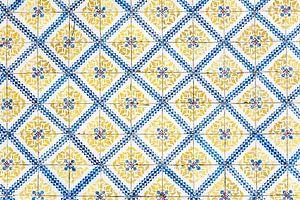 Gele tegels van Lissabon