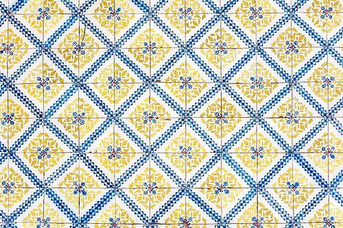 Gele tegels van Lissabon von Ronne Vinkx
