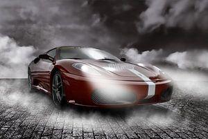 Raceauto - formule 1 van