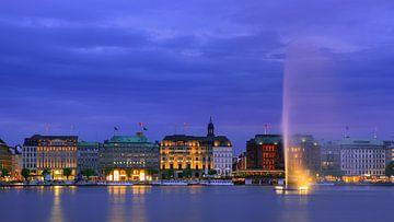 Binnenalster, Hamburg, Deutschland von Henk Meijer Photography