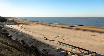 Winters strand van Percy's fotografie