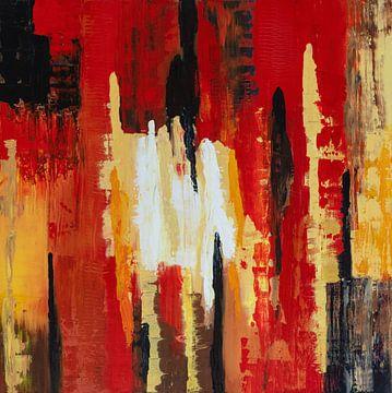 Abstraktes Stehen von Lyda Geeratz