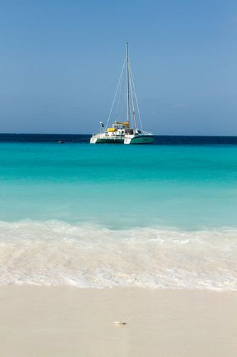 Catamaran bij klein Curacao no. 4