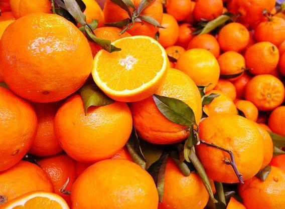 Oranje sinaasappels fruit