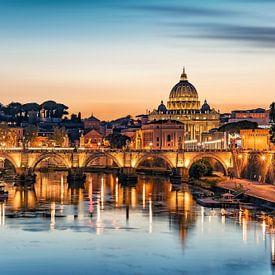 Rome le soir sur Manjik Pictures