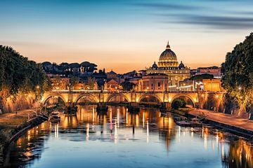 Rom am Abend von Manjik Pictures
