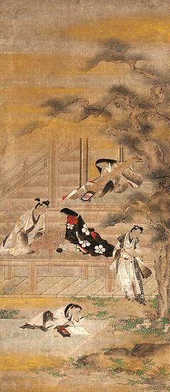 Iwasa Matabei. The Four Pleasures