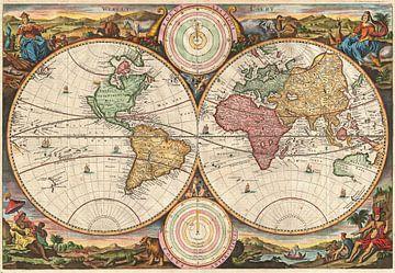 Weltkarte von