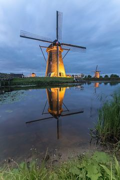 Kinderdijk verlicht von Jan Koppelaar