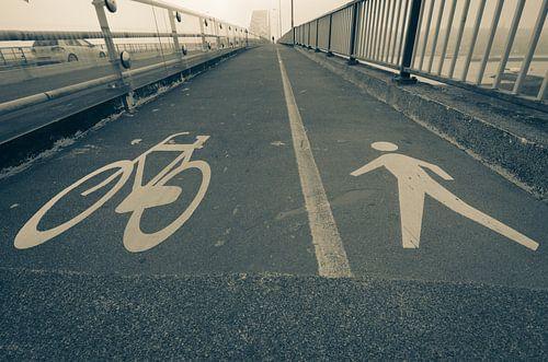 Fietsen of lopen