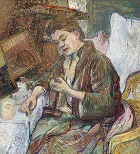 Toilette Fräulein Favre, Henri de Toulouse-Lautrec - 1891