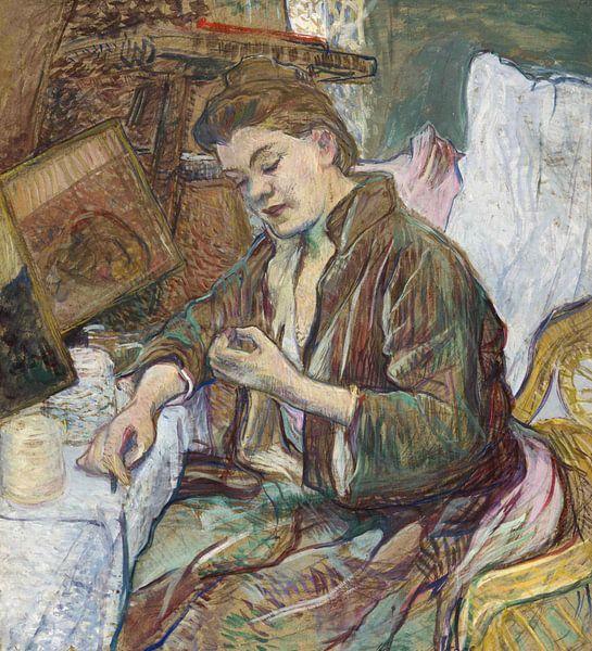 Toilette Fräulein Favre, Henri de Toulouse-Lautrec - 1891 von Het Archief