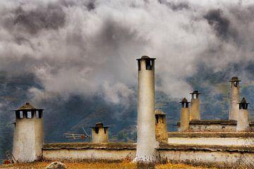 Schoorstenen/chimneys van Harrie Muis