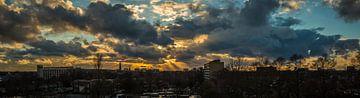 Amersfoort Zonsondergang van Vincent van den Hurk