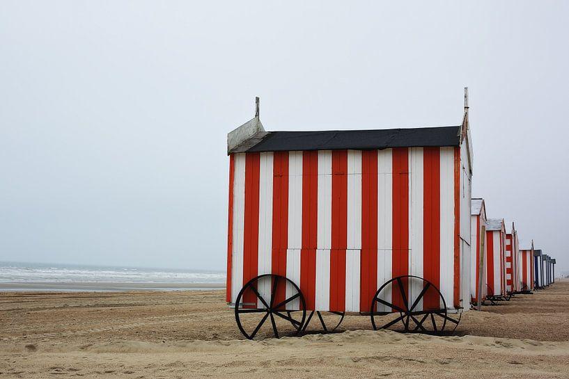 Strandhuisjes van LHJB Photography