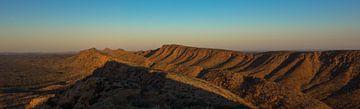West MacDonnell Ranges zonsondergang van