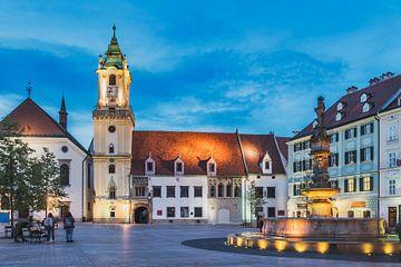 Das Alte Rathaus Bratislava, Slowakei von Gunter Kirsch