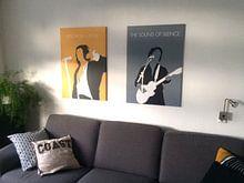 Kundenfoto: No097 MY PAUL SIMON Minimal Music poster von Chungkong Art, auf leinwand