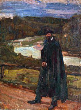 Mann im Isartal, ALBERT WEISGERBER, 1905