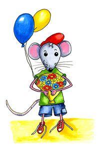 Kleine Maus zum Geburtstag