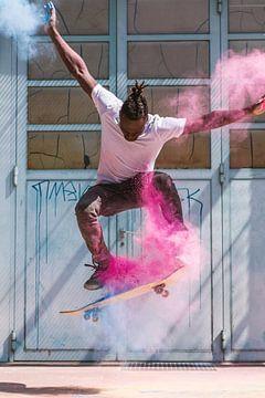 Skater - Kickflip mit Holipulver sur Felix Brönnimann