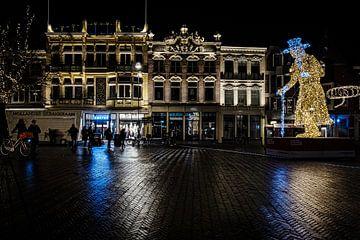 Oude binnenstad van Deventer van Eddy Westdijk