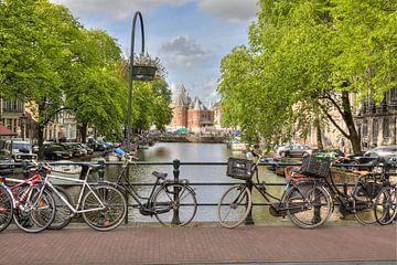 Amsterdam, Kloveniersburgwal, Waag, Nieuwmarkt von Tony Unitly