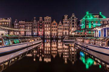 Damrak Amsterdam Bateau aller-retour sur Alfred Benjamins