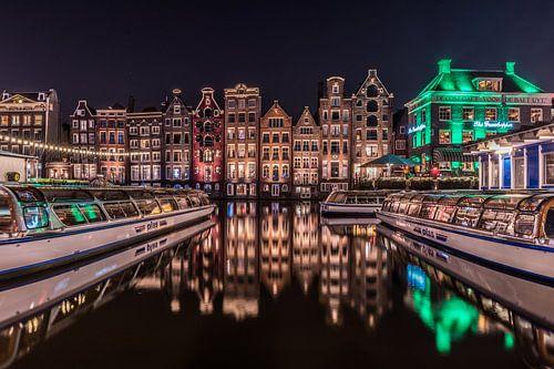 Damrak Amsterdam Rondvaardboot
