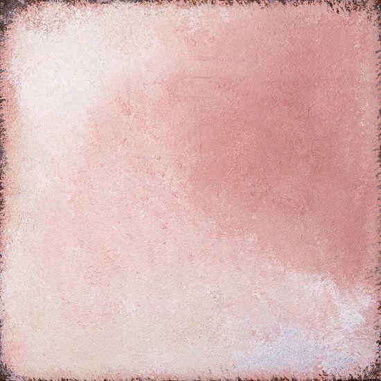 Abstract, verweerde textuur, oudroze