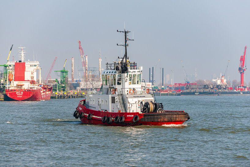 Sleepboot Texelbank Rotterdam. van Brian Morgan