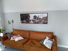 Klantfoto: Hoorn Haven Hoofdtoren van Hans Albers, op canvas