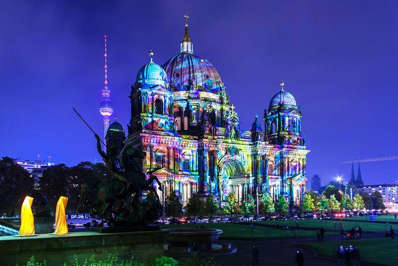 La cathédrale de Berlin sous un jour particulier sur Frank Herrmann