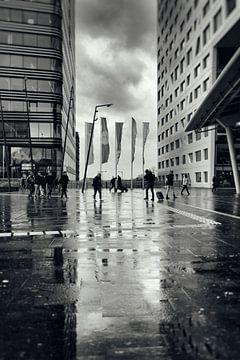 Straatfotografie in Utrecht. Stadsplateau Utrecht.  (Utrecht2019@40mm nr 8) van De Utrechtse Grachten
