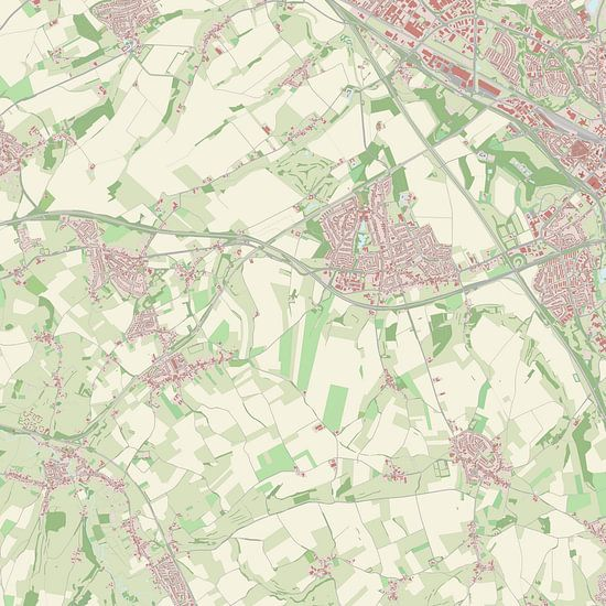 Kaart vanVoerendaal