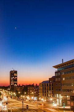 Zonsondergang met twee sterren (2) van By Odessa DC