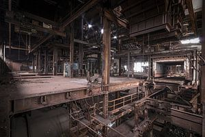 alte verlassene Sinterfabrik
